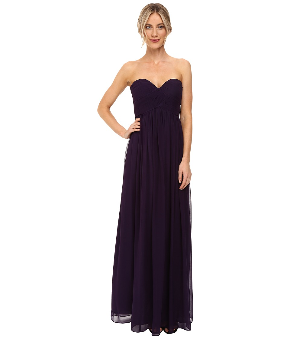 Donna Morgan - Laura Long Chiffon Gown Dress (Amethyst) Women's Dress