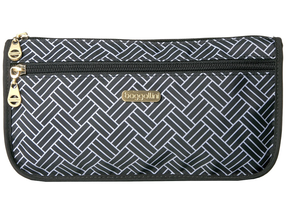 Baggallini Fiji Large Wedge Case (Basket Weave) Cosmetic Case