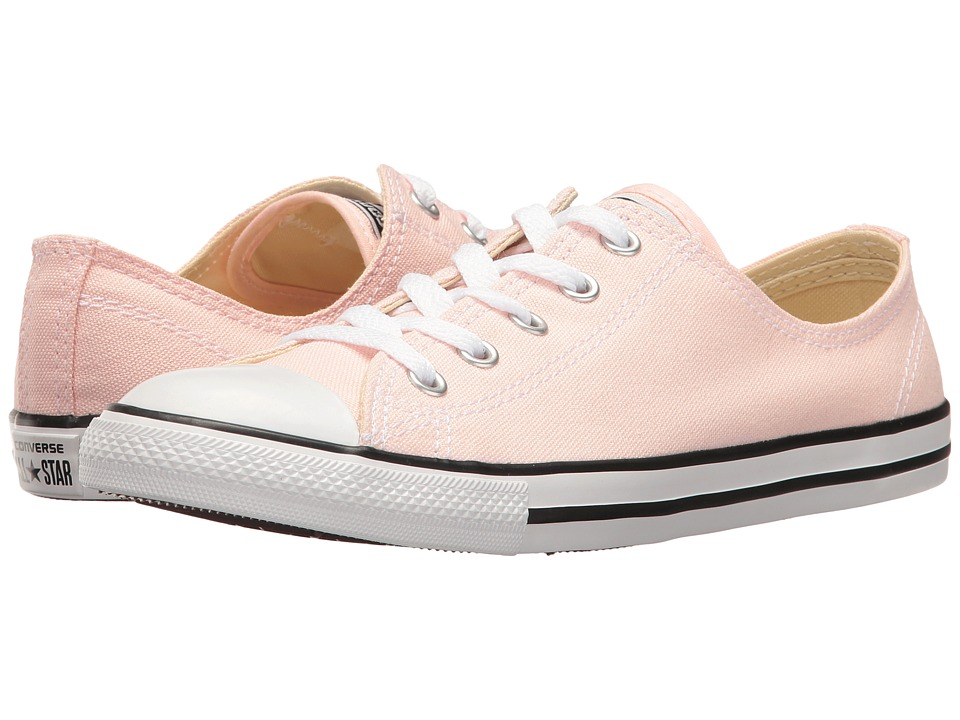 Converse - Chuck Taylor All Star Dainty - Seasonal Ox (Vapor Pink/Black/White) Women's Shoes
