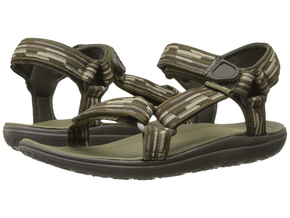Teva Kids - Terra-Float Universal (Little Kid/Big Kid) (Tacion Brown/Black Olive) Boys Shoes