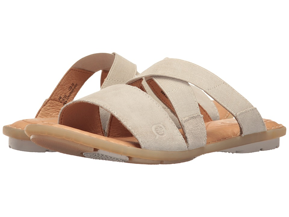 Born - Tidore (Light Grey Distressed) Women's Sandals