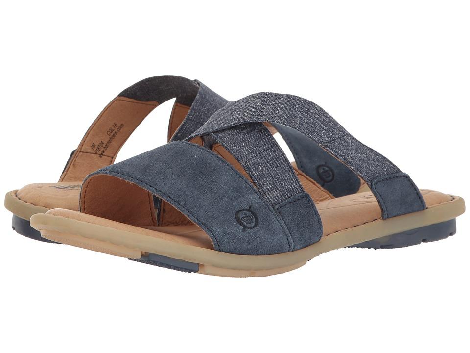 Born - Tidore (Blue Distressed) Women's Sandals