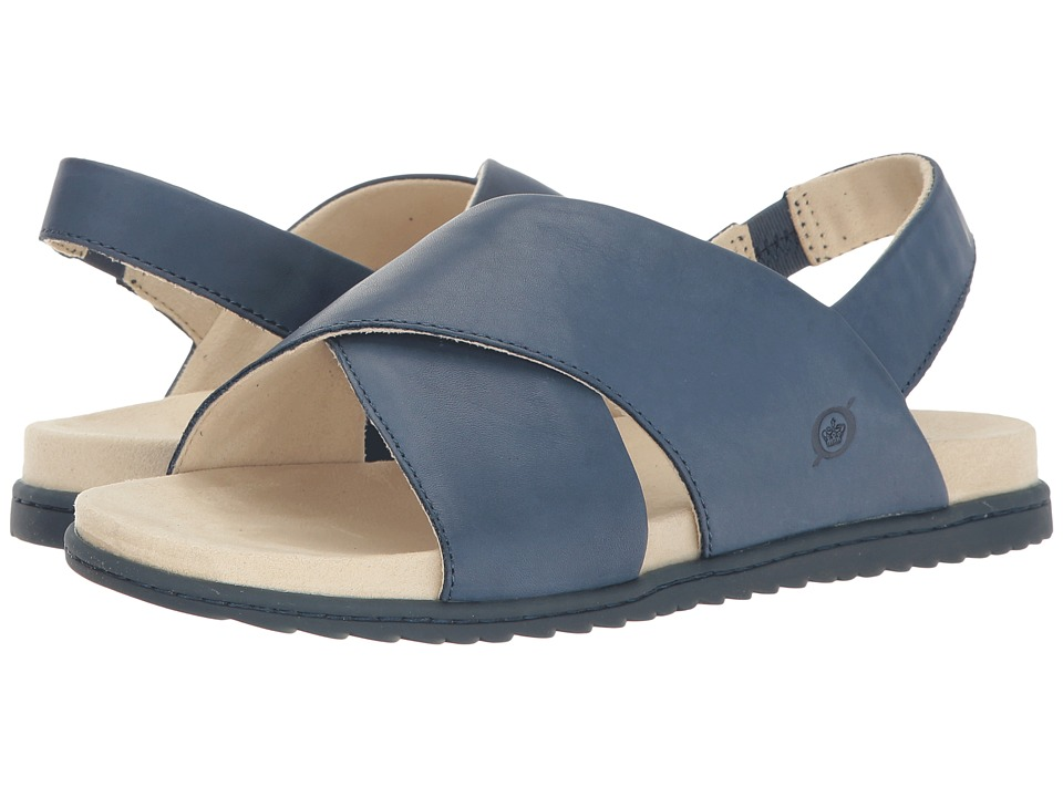 Born - Lima (Navy Full Grain) Women's Sandals