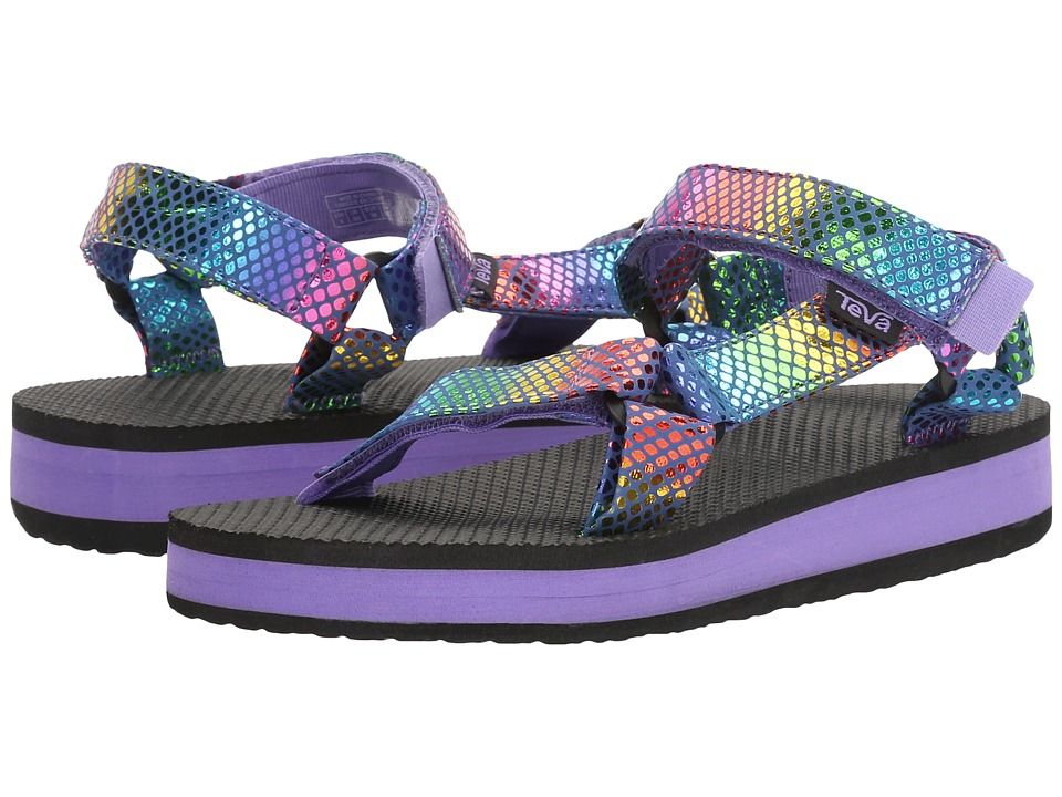 Teva Kids - Hi-Rise Universal (Little Kid/Big Kid) (Purple Multi Snake) Girls Shoes