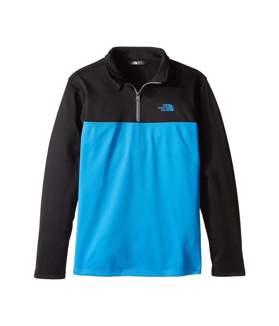The North Face Kids - Tech Glacier 1/4 Zip (Little Kids/Big Kids) (Clear Lake Blue (Prior Season)) Boy's Long Sleeve Pullover