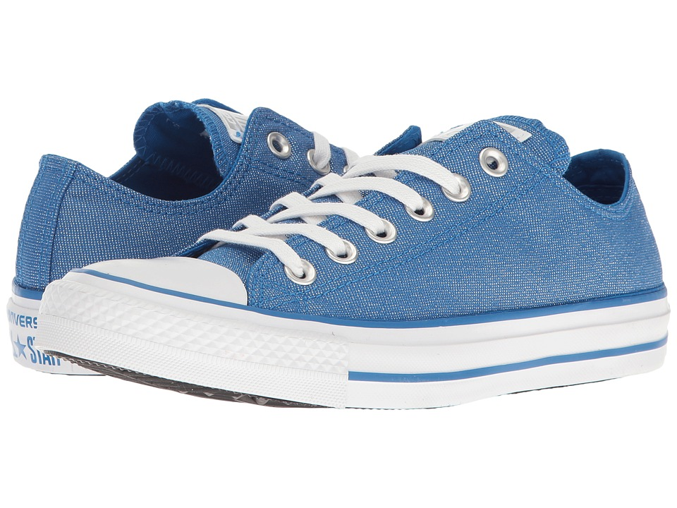 Converse - Chuck Taylor All Star Brea Animal Glam Textile Ox (Soar/Silver/White) Women's Classic Shoes