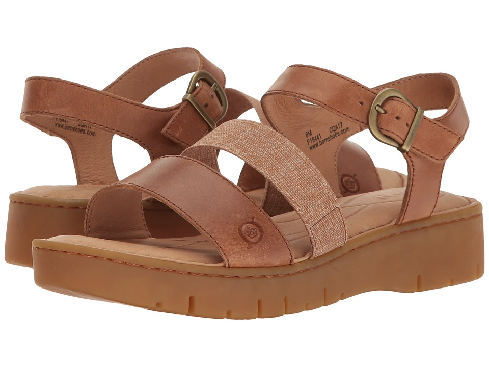 Born - Cape Town (Light Brown Full Grain) Women's Sandals