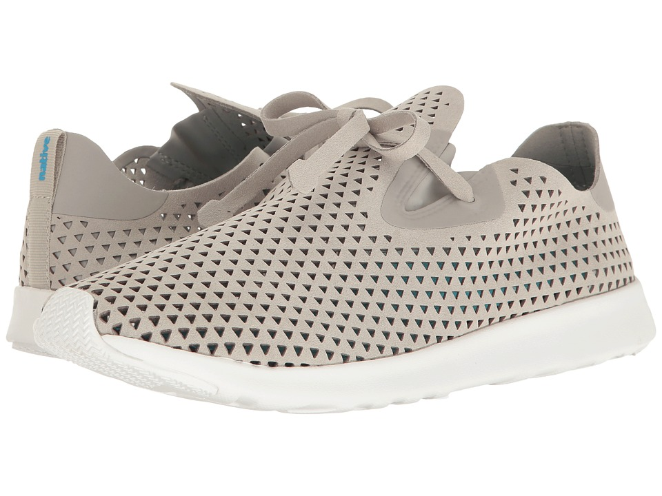 Native Shoes - Apollo XL (Pigeon Grey/Shell White/Shell Rubber/Triangle) Lace up casual Shoes
