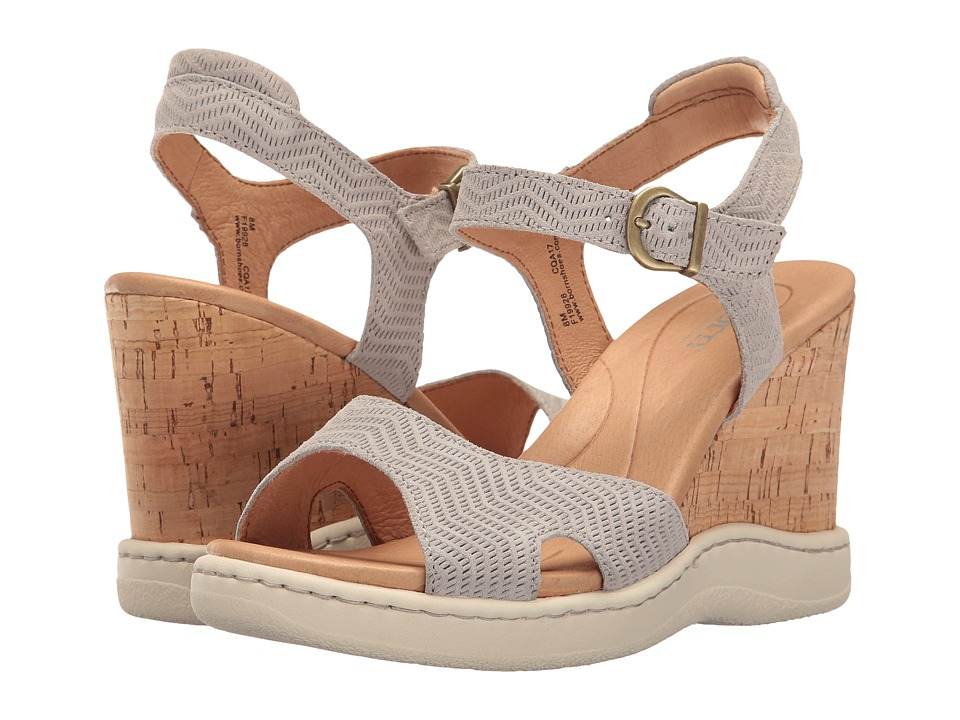 Born Puno (Light Grey Suede) Women