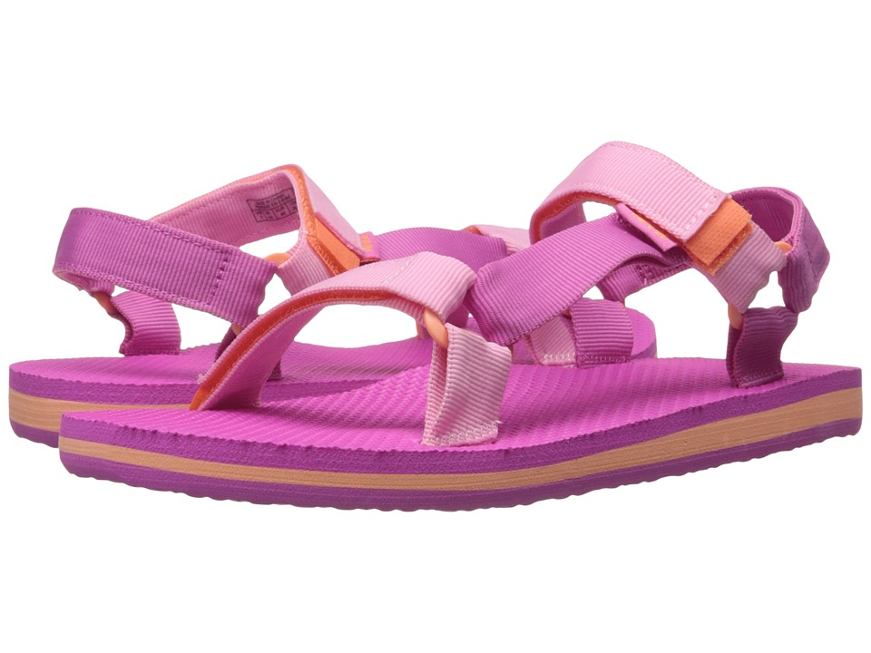 Teva Kids - Original Universal (Little Kid/Big Kid) (Pink/Orange) Girls Shoes