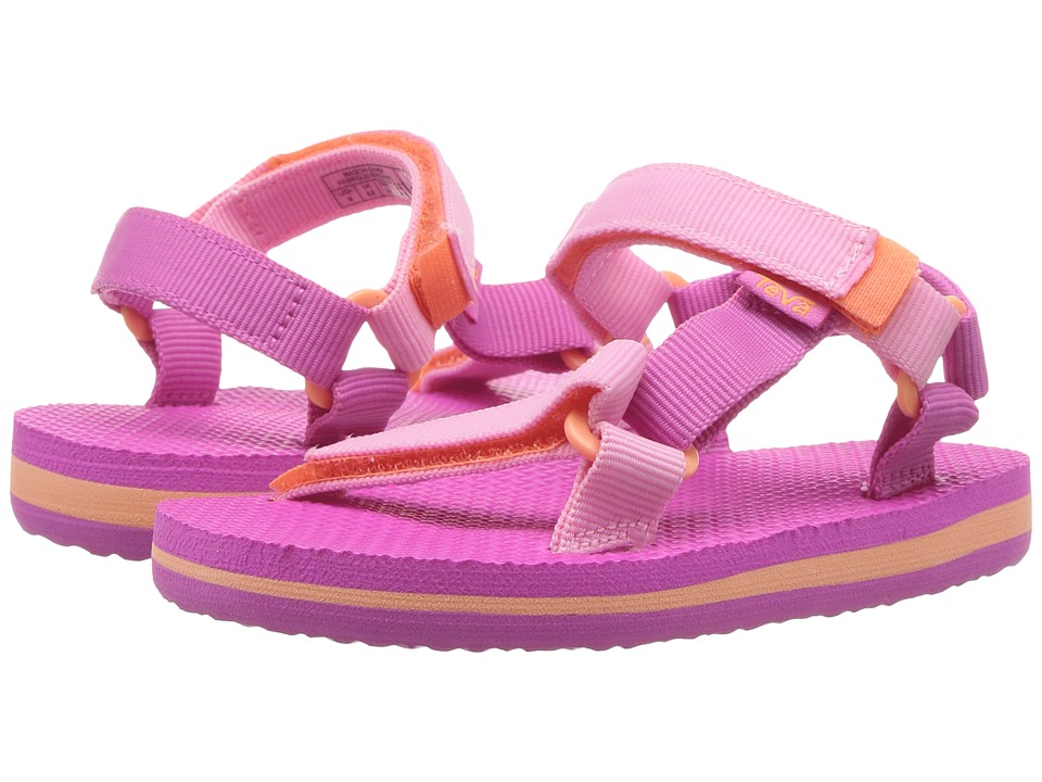 Teva Kids - Original Universal (Toddler) (Pink/Orange) Girls Shoes