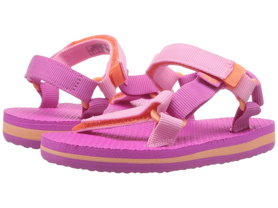 Teva Kids - Original Universal (Toddler) (Pink/Orange) Girls Shoes