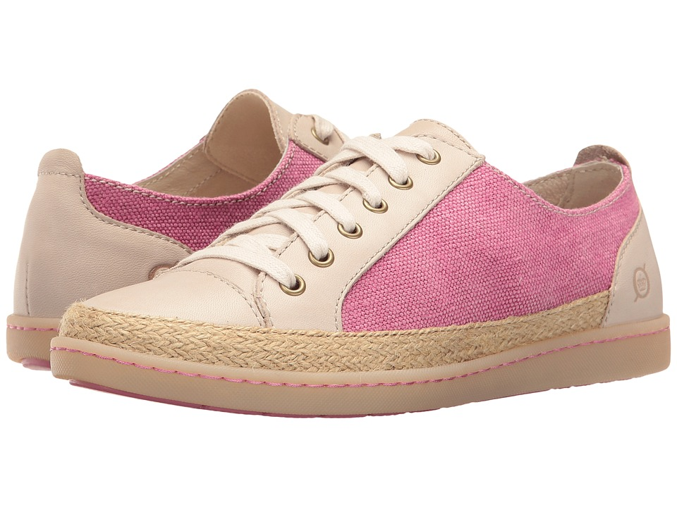 Born Corfield (Dark Pink/Cream Canvas Combo) Women