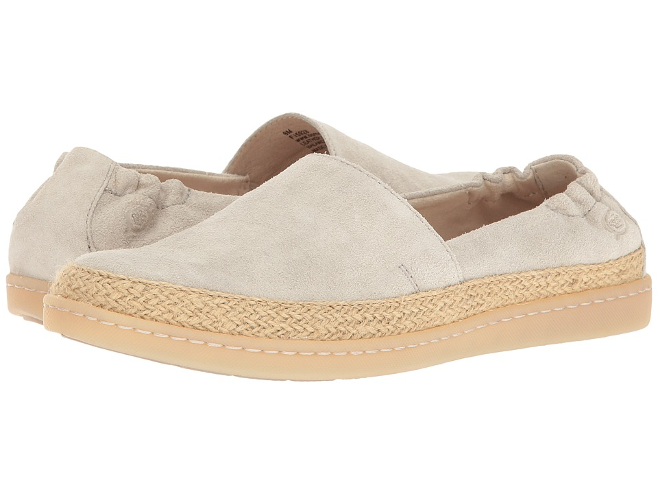 Born - Castries (Light Grey Distressed) Women's Slip on Shoes