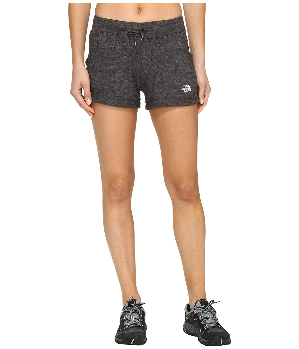The North Face - Tri-Blend Shorts (TNF Dark Grey Heather (Prior Season)) Women's Shorts