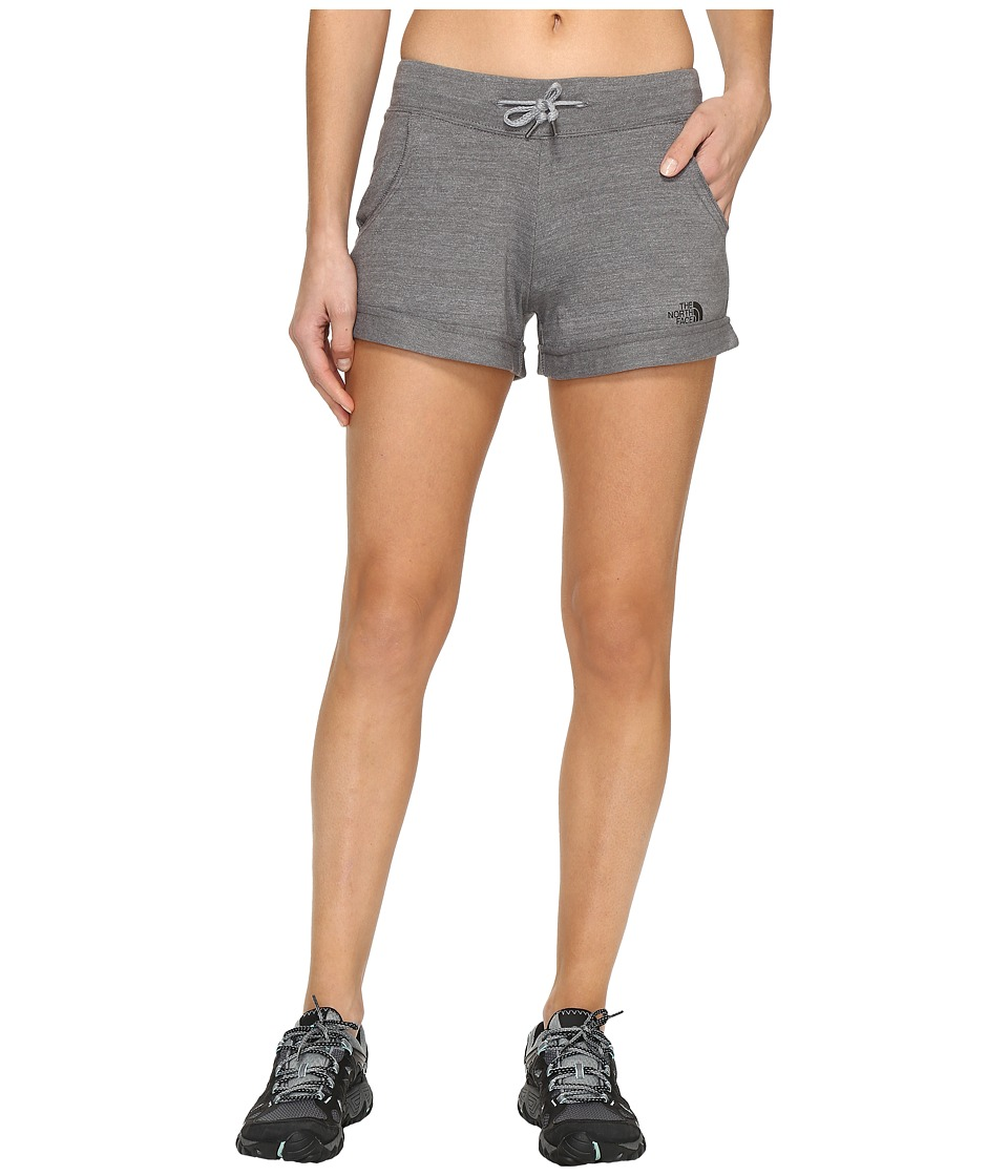 The North Face - Tri-Blend Shorts (TNF Medium Grey Heather (Prior Season)) Women's Shorts