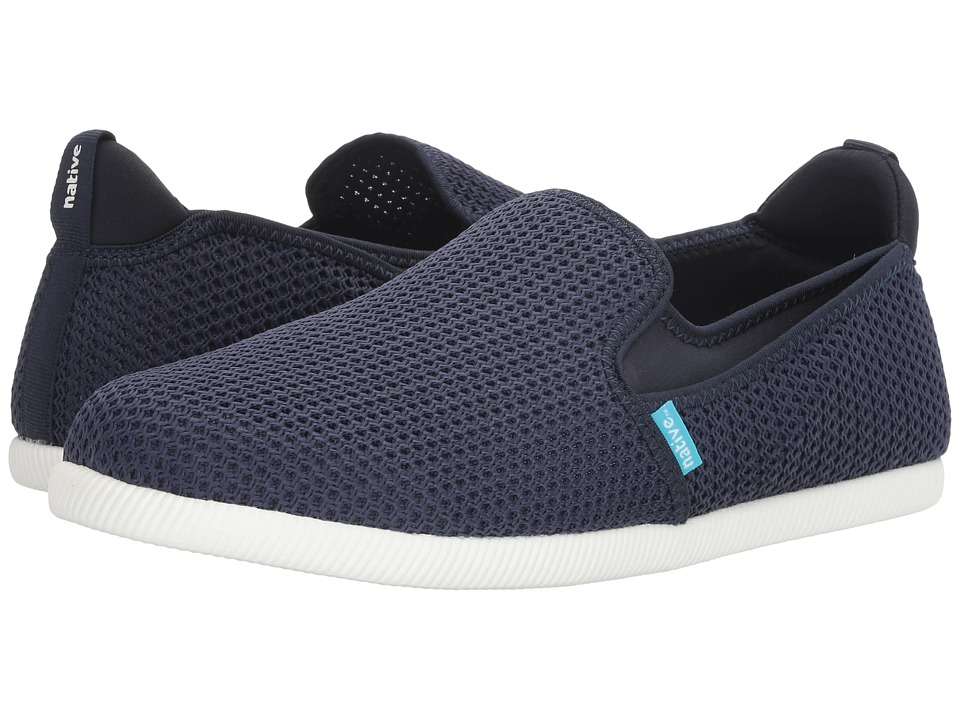 Native Shoes - Cruz (Regatta Blue/Shell White) Athletic Shoes