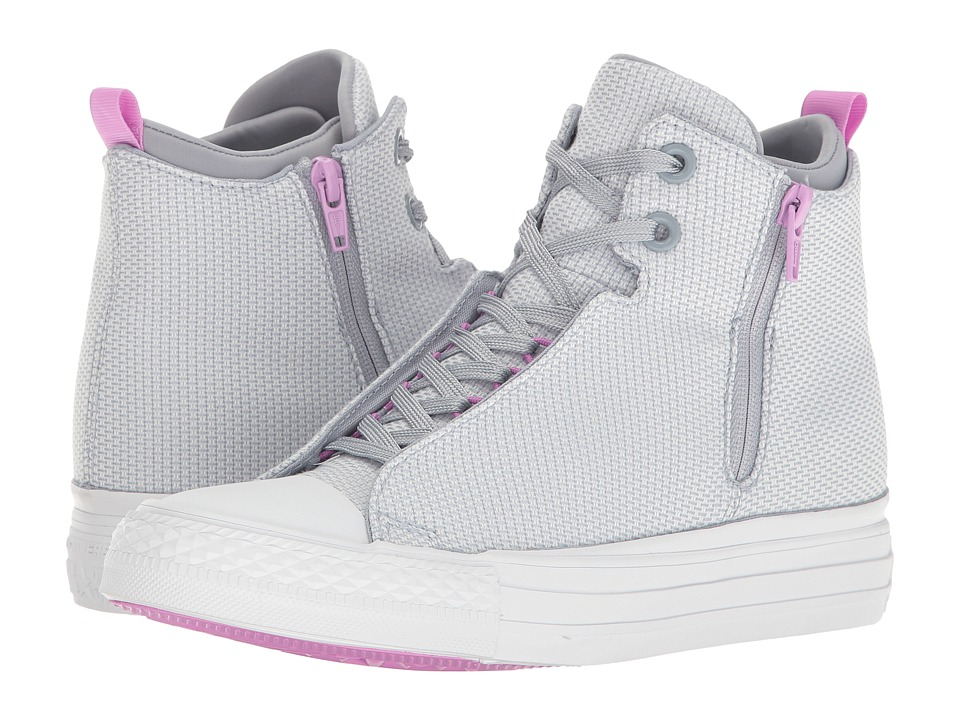 Converse - Chuck Taylor All Star Selene Basket Woven Mid (Blue Granite/Fuchsia Glow/White) Women's Shoes