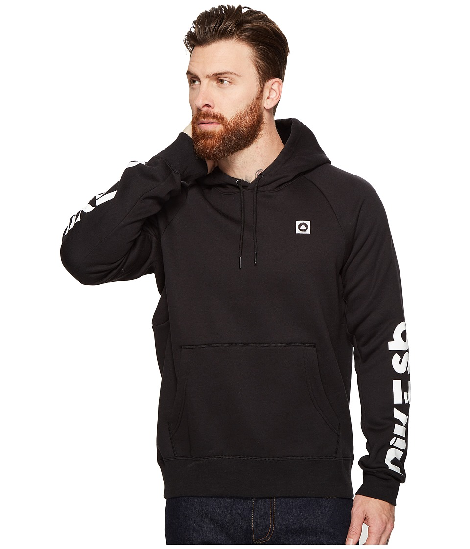 Nike SB - SB Icon Geo Hoodie (Black/White) Men's Sweatshirt