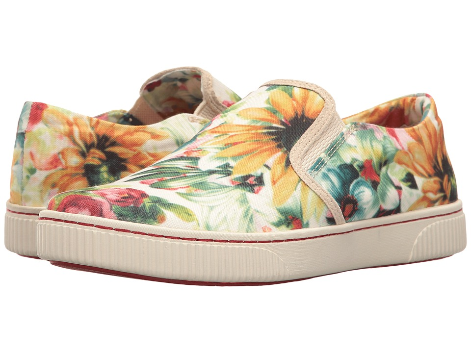Born - Richie (Multi Canvas) Women's Slip on Shoes