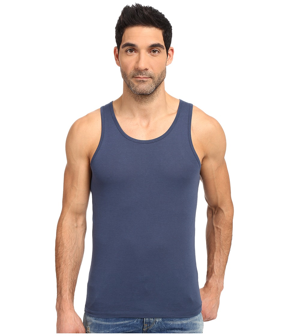 Alternative - Cotton Modal Easy Tank Top (Midnight) Men's Sleeveless