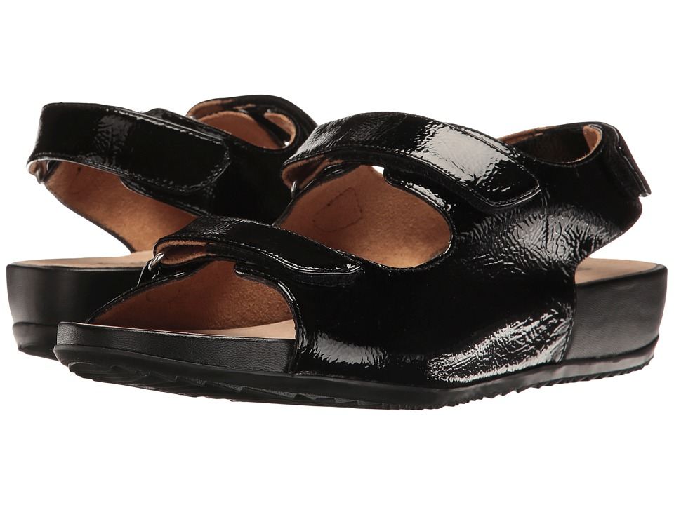 SoftWalk - Dana Point (Black) Women's Sandals