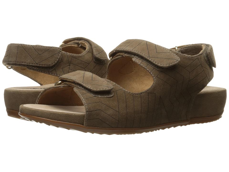 SoftWalk - Dana Point (Dark Nude/Dark Brown) Women's Sandals