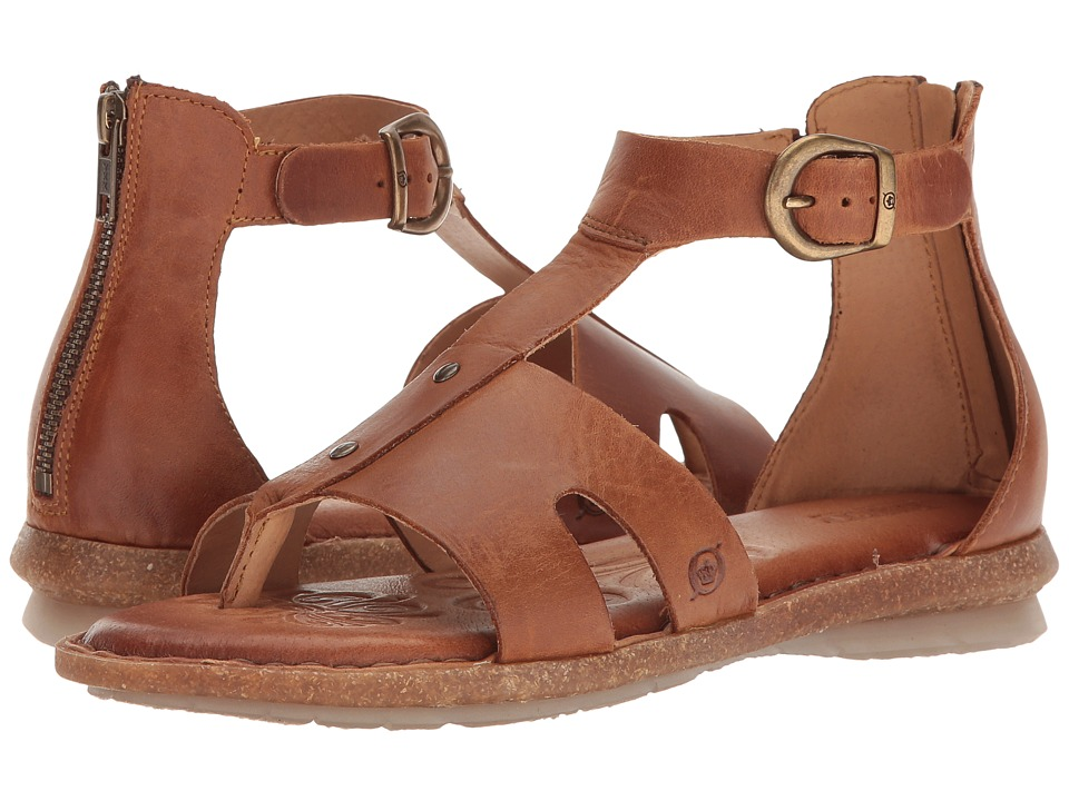 Born - Timina (Rust Full Grain) Women's Sandals