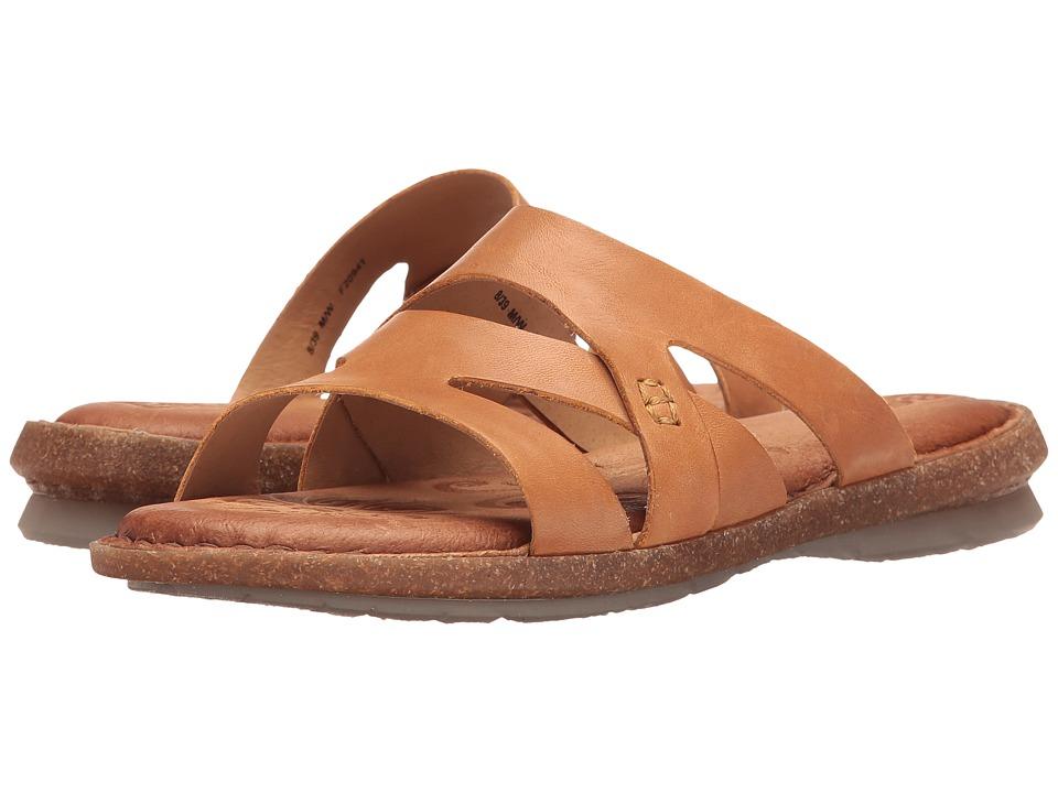 Born - Tepati (Light Brown Full Grain) Women's Sandals