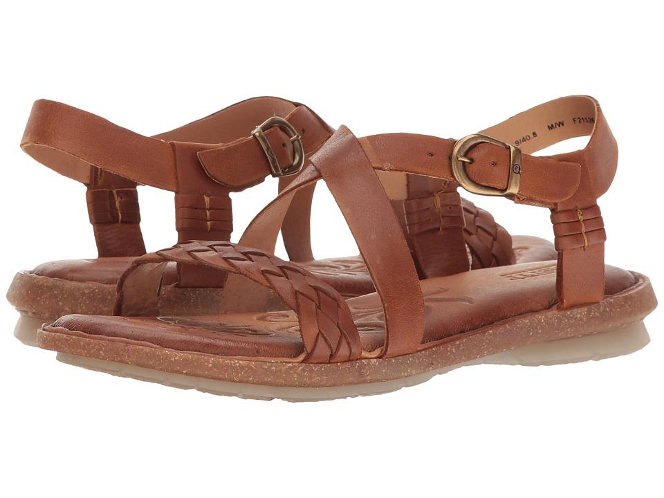 Born - Tarma (Rust Full Grain) Women's Sandals