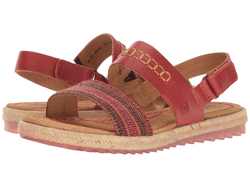 Born Vigan (Red Striped Fabric Combo) Women