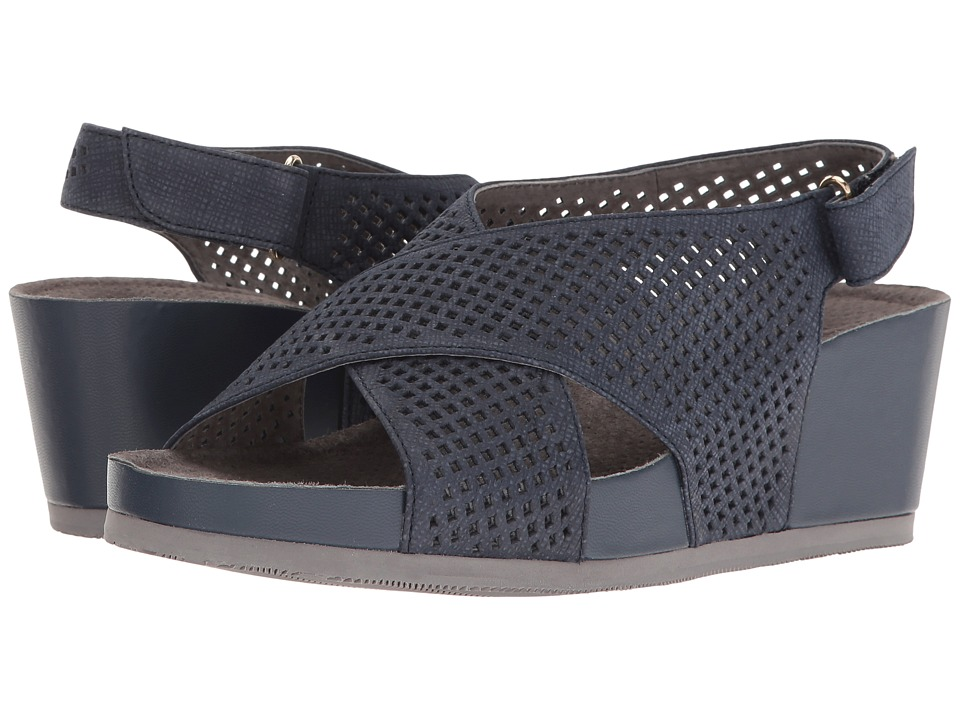 SoftWalk - Hansford (Denim) Women's Wedge Shoes