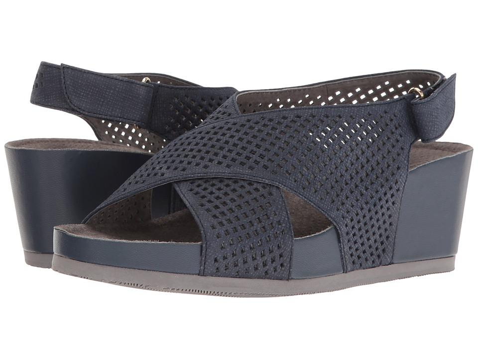 SoftWalk - Hansford (Denim) Women's Wedge Shoes