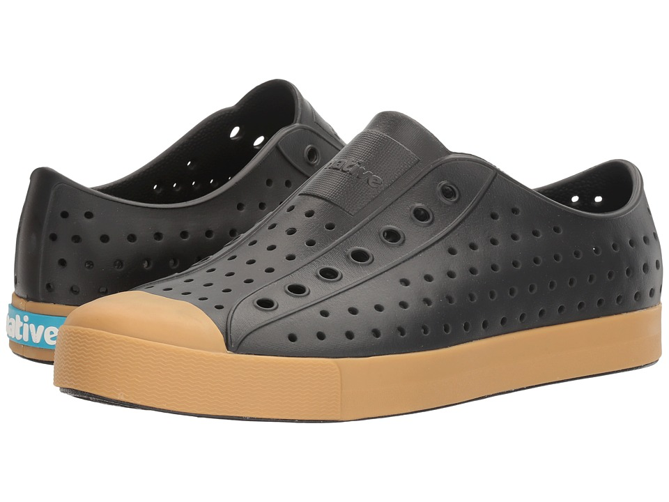 Native Shoes - Jefferson (Jiffy Black/Gum Rubber) Shoes