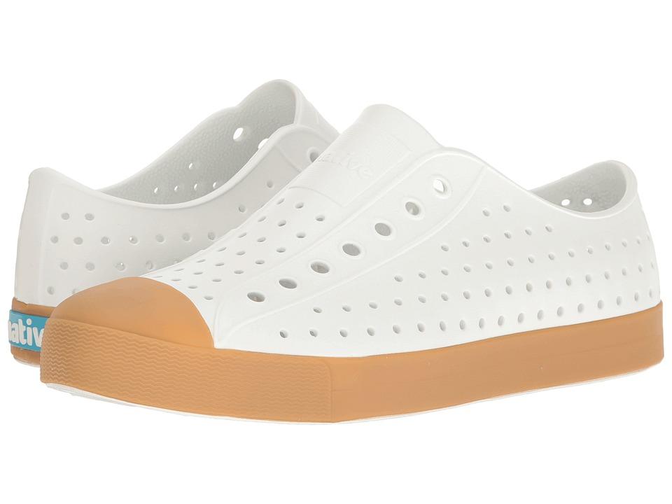 Native Shoes Jefferson (Shell White/Gum Rubber) Shoes