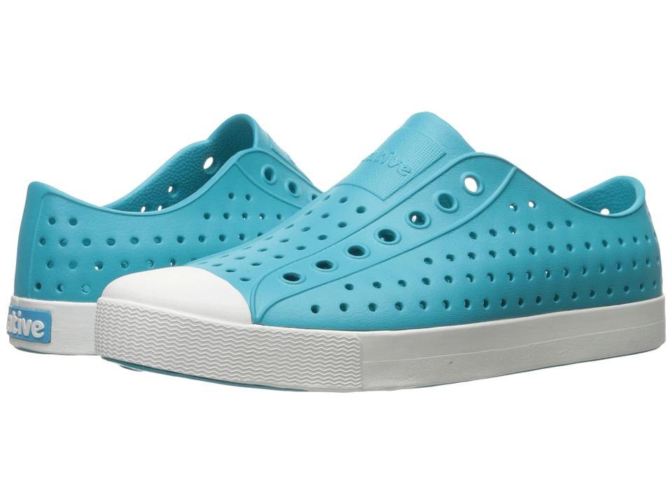 Native Shoes Jefferson (Iris Blue/Shell White) Shoes