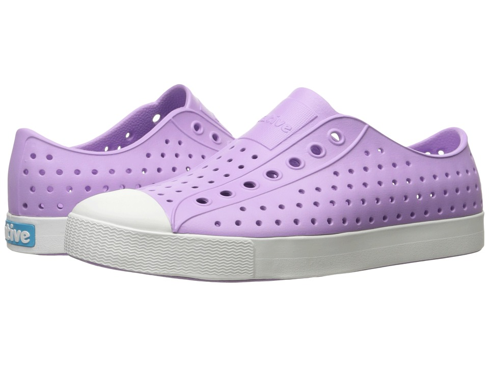 Native Shoes Jefferson (Lavender Purple/Shell White) Shoes