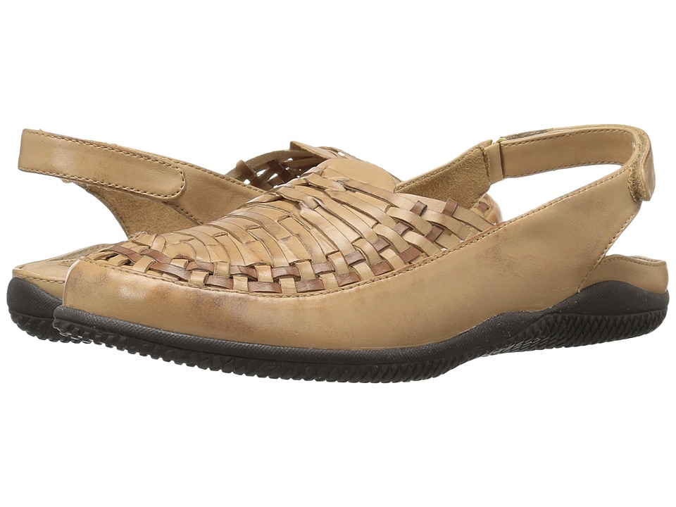 SoftWalk - Harper (Beige/Tan) Women's Shoes