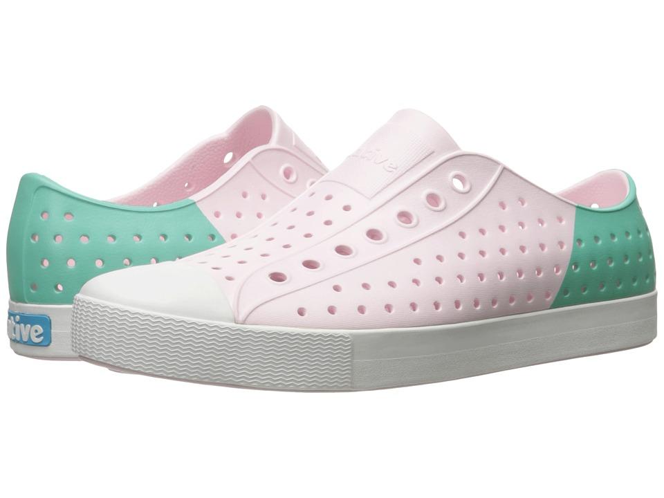 Native Shoes - Jefferson (Milk Pink/Shell White/Glass Block) Shoes