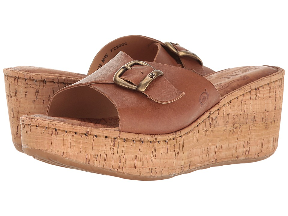 Born Araya (Brown Full Grain) Women