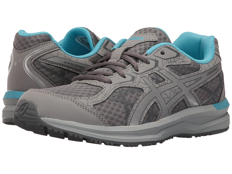 ASICS - Endurant (Aluminum/Silver/Aquarium) Women's Shoes