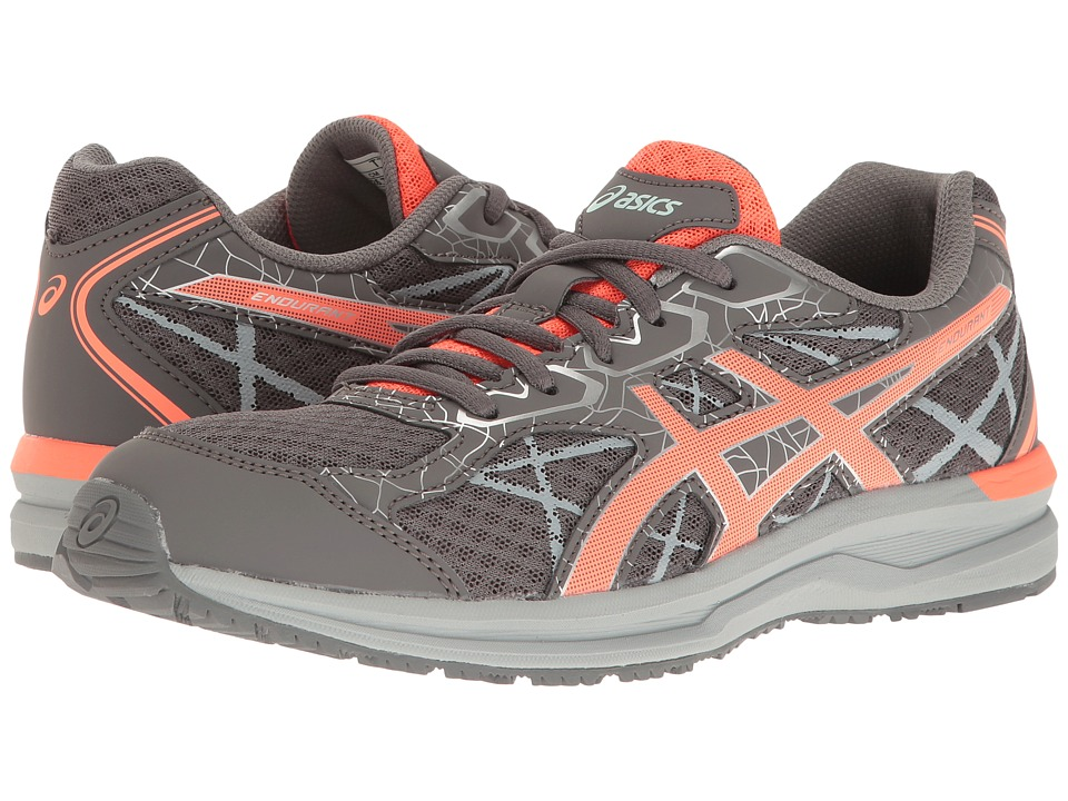 ASICS - Endurant (Carbon/Flash Coral/Silver) Women's Shoes