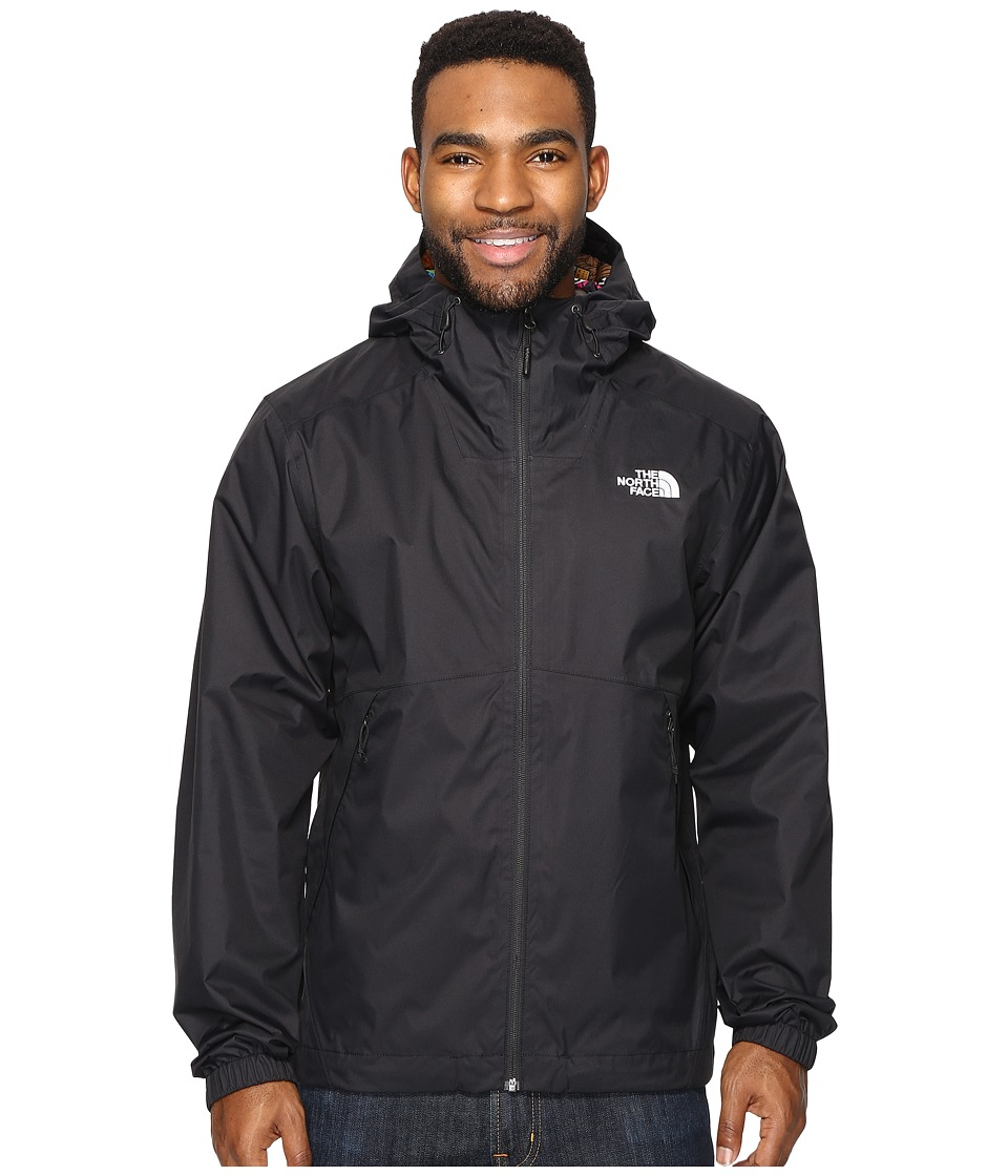 The North Face - Millerton Jacket (TNF Black/Multi Sticker Bomb (Prior Season)) Men's Coat