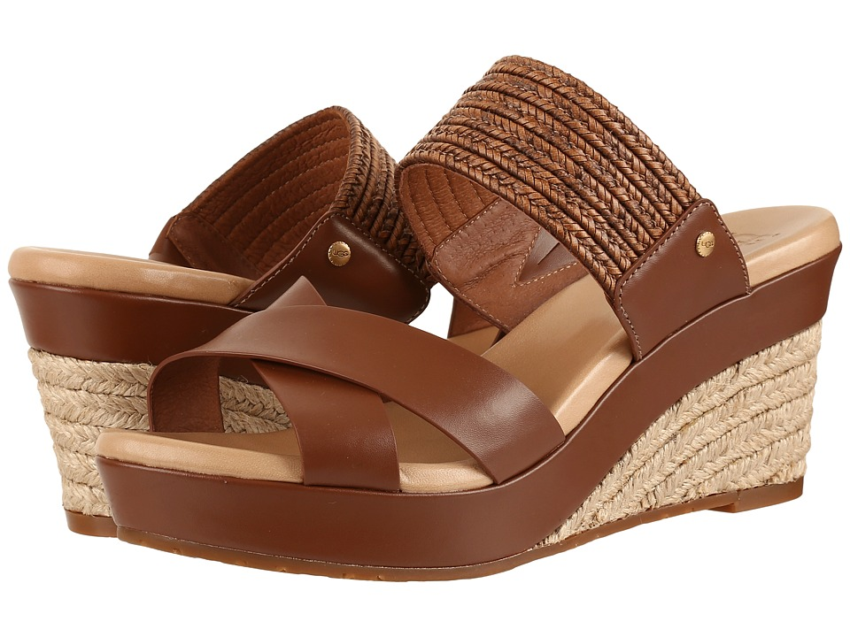 UGG - Adriana (Tamarind) Women's Wedge Shoes