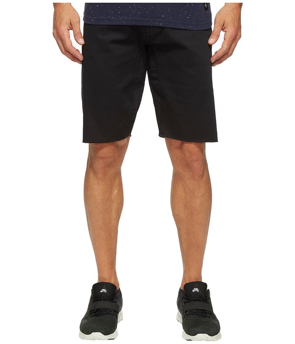 Nike SB - SB FTM Stretch 5 Pocket Shorts (Black) Men's Shorts