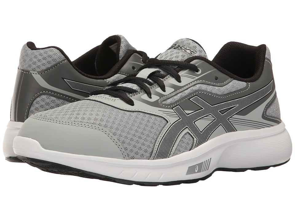 ASICS - Stormer (Mid Grey/Black/Carbon) Men's Shoes