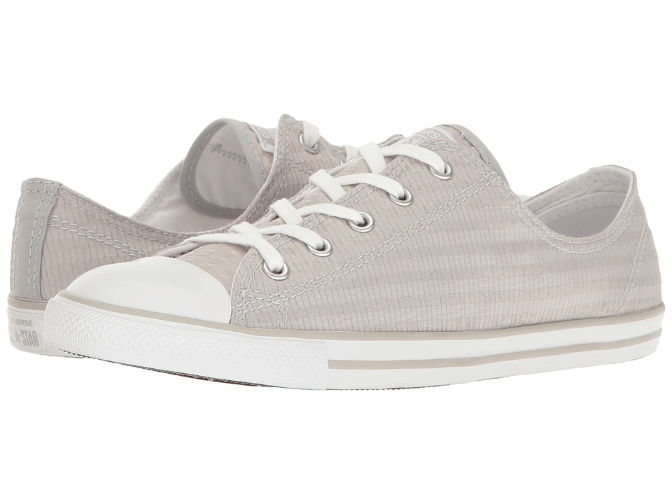 Converse - Chuck Taylor All Star Dainty Engineered Lace Ox (Ash Grey/White/Mouse) Women's Classic Shoes