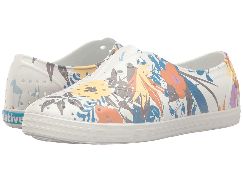 Native Shoes - Jericho (Shell White/Shell White/Bouquet) Women's Shoes