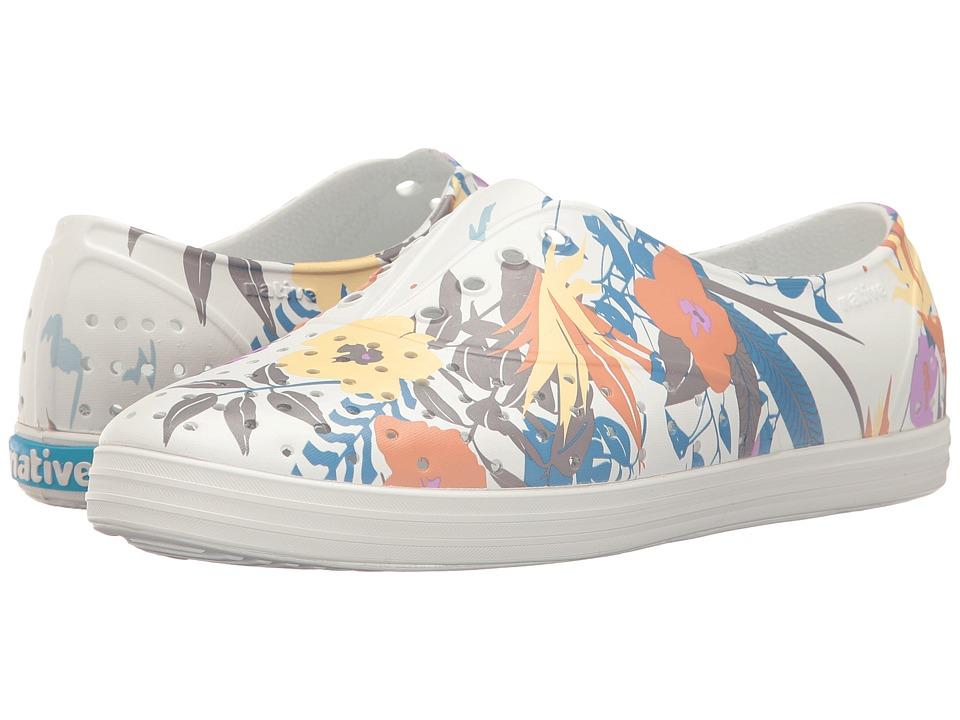 Native Shoes - Jericho (Shell White/Shell White/Bouquet) Women's Shoes