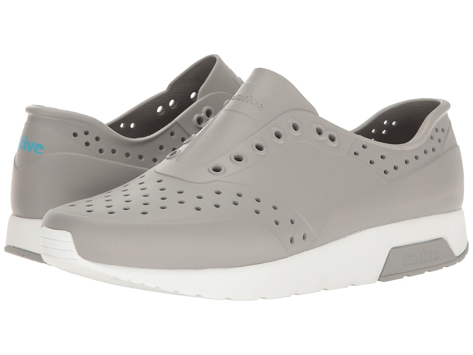 Native Shoes - Lennox (Pigeon Grey/Shell White) Athletic Shoes
